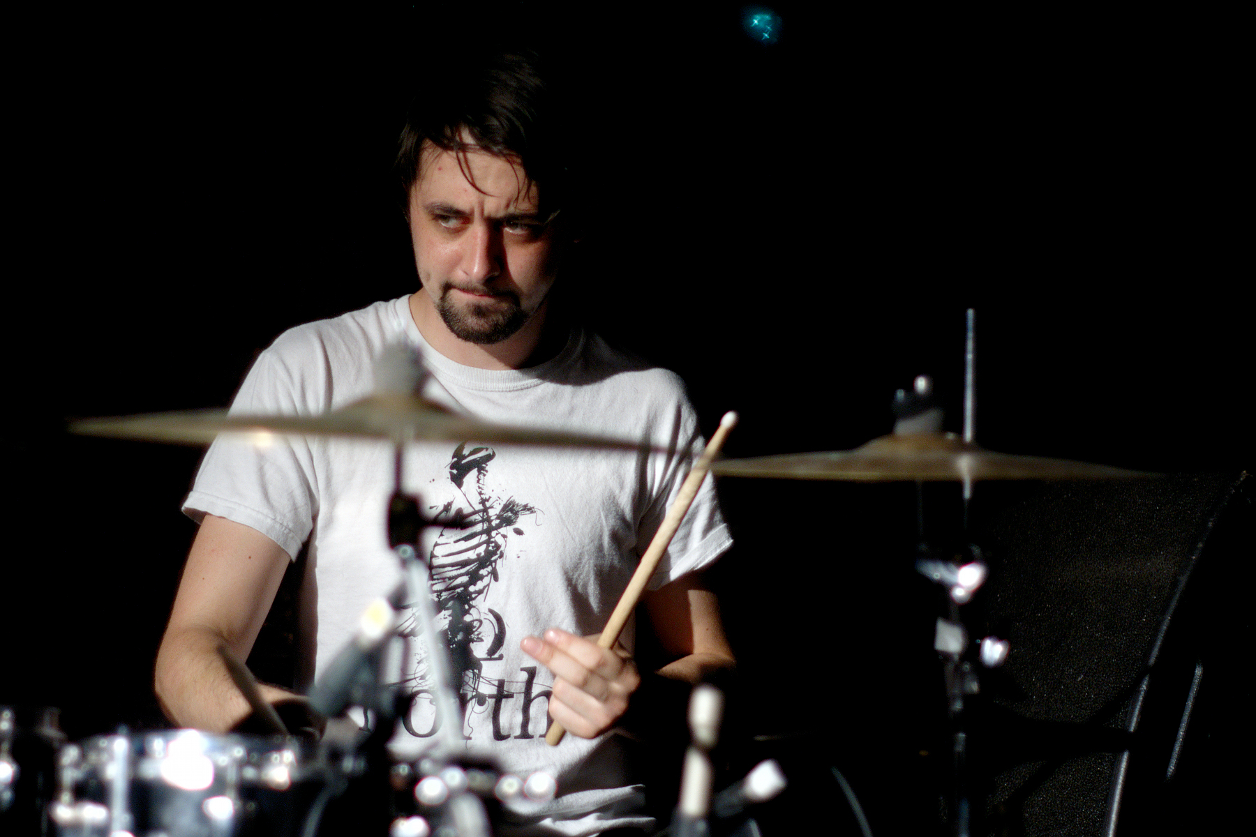 Rob Jones, Drums, 65daysofstatic, La Maroquinerie, Paris
